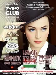 ELECTRO SWING CLUB DE PARIS • SPECIALE BUDAPEST (HU)
