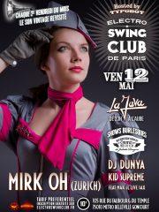 ELECTRO SWING CLUB DE PARIS – MIRK OH